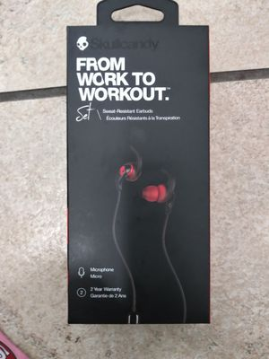Skullcandy bluetooth wireless earbuds for Sale in Fresno, CA
