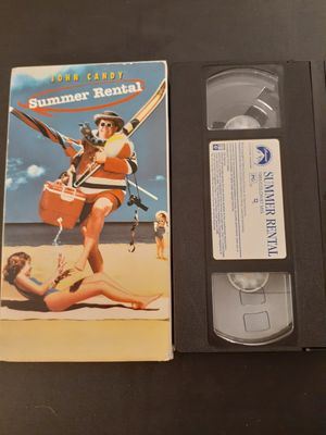 SUMMER RENTAL (VHS) John Candy! for Sale in Lewisville, TX