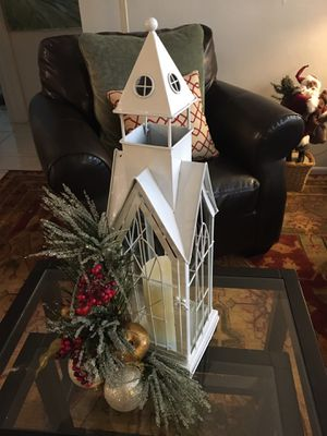 Church Christmas decoration for Sale in Port Richey, FL