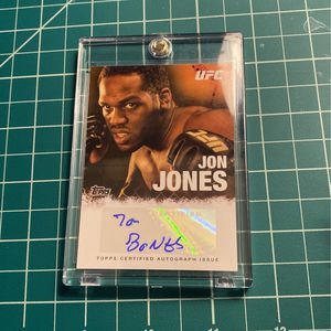 Jon Jones Auto UFC Card for Sale in Bethel, CT