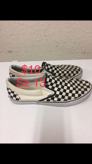 Vans size 13 for Sale in Auburndale, FL