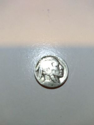 Silver nickel Buffalo Indian 1937 coin for Sale in Houston, TX