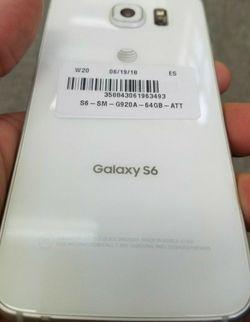 Unlocked Samsung Galaxy S6 32gb White Phenomenal Condition for Sale in Miami,  FL
