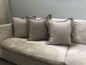 Pottery Barn pillows with pillow cases for Sale in Hollywood, FL