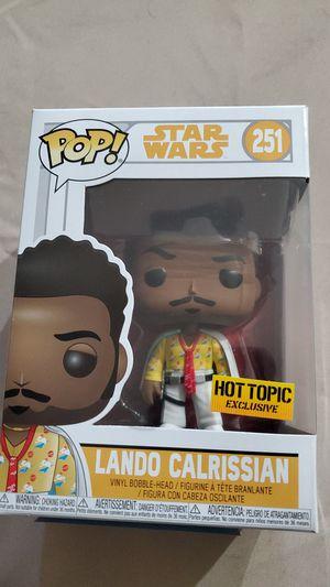 Star Wars Lando Calrissian Hot Topic Exclusive for Sale in Las Vegas, NV