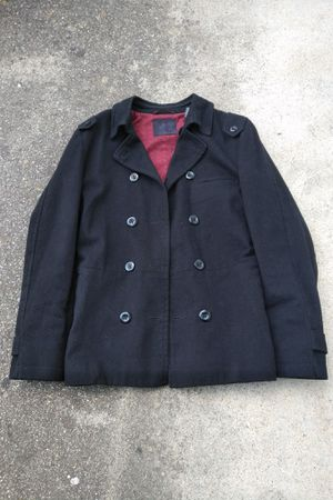 Troy Smith D Collection Urban Outfitters Black Peacoat Size Medium for Sale in MONTE VISTA, CA