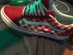 Red and White Checkered Vans for Sale in Meriden, CT