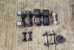 Various Dumbbells for Sale in Mokena, IL