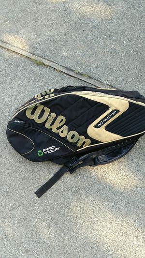 Wilson tennis racquet carrying bag for Sale in Tukwila, WA
