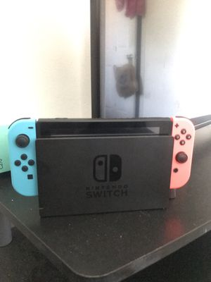 Nintendo Switch with 4 Games (& Extras) for Sale in Dallas, GA