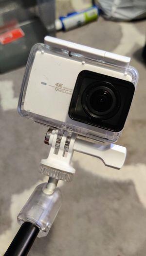 Yi 4K, selfie stick, 3 batteries, 64GB microSD, water proof case, go pro mount for Sale in Falls Church, VA