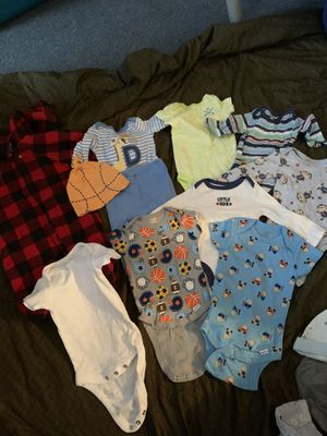 3 month boys clothes. No stains. Smoke free for Sale in Buffalo, NY