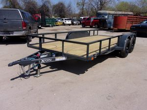 BRAND NEW X-ON UTILITY TRAILER W/BRAKES W/RAMPS 3500lb for Sale in Lewisville, TX