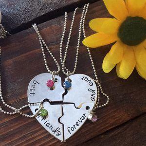 Best friend necklace set of four. for Sale in Denver, CO
