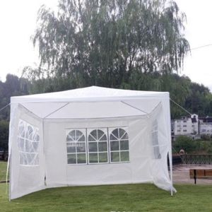 10x10 Tent Water 💦 Resistant 10x10ft party tent offers 100 sq. ft. coverage, can hold approx. 10 people with seating UV-resistant & Water-resistant for Sale in South Gate, CA