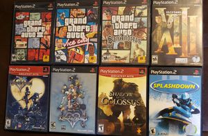 8 PS2 classics for Sale in Long Beach, CA