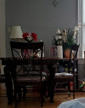 Beautiful dinner table 4 chairs for Sale in Reading, PA