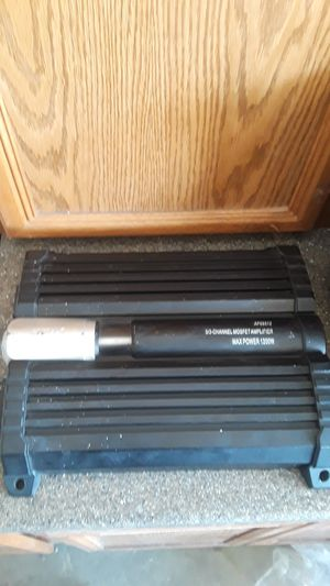 SDX pro audio 5/3- channel mosfet amplifier MAX POWER 1200W for Sale in Victorville, CA