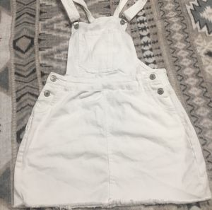 Overall white dress for Sale in Marietta, SC