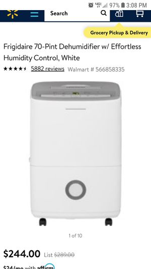 Dehumidifier for Sale in Houston, TX