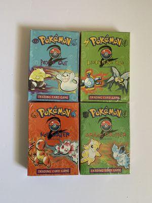 Pokemon 1999 Base Set 2 Theme Decks for Sale in Bethlehem, PA