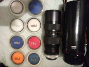 64mm len with 8 multi colored pro lense for Sale in Steubenville, OH
