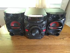LG Hi performance mini hi-fi system for Sale in Horseheads, NY