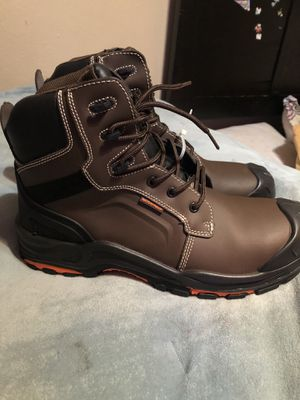 DRKA waterproof boots steel toe boots for Sale in San Bernardino, CA