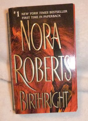Nora Robert's Softback Book Birthright for Sale in Ripley, WV