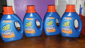 4 all laundry detergent 36oz for Sale in Glenarden, MD