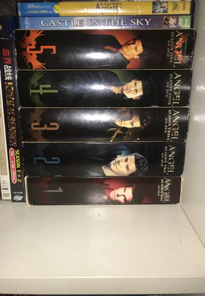 Angel, complete series on dvd for Sale in Dallas, TX