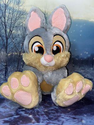 """Disney Parks Thumper Bunny Rabbit Big Feet 17"""" Plush for Sale in Bellflower, CA"""