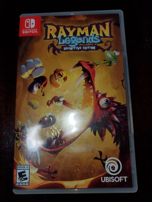 Rayman Legends ( Nintendo switch) for Sale in UNIVERSITY PA, MD
