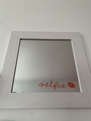 """Selfie"" Wall Mirror - White for Sale in The Bronx, NY"