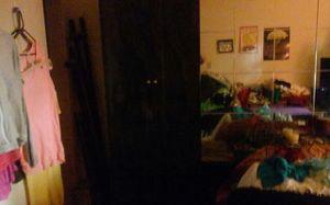 Beautiful headboard. Black faux marble. Fits queen size bed 2 for Sale in Clovis, CA