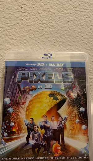 New Pixels Blue-Ray in 2D or 3D for Sale in San Marcos, CA