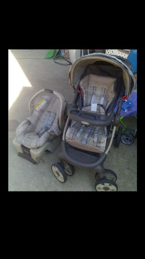 Graco stroller and baby car for Sale in Summit, IL