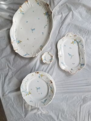 Gorgeous!!! Antique Theodore Haviland Limoges Dinner Plates and Platters for Sale in Gilbert, AZ