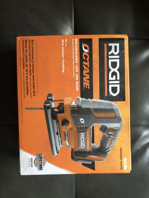 RIDGID Brushless 18v Jig Saw for Sale in Camp Springs, MD