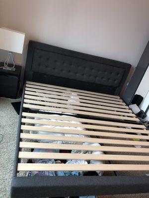 King size bed frame for Sale in Sandy Springs, GA