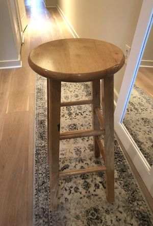 Wooden bar stool 29 in for Sale in Washington, DC
