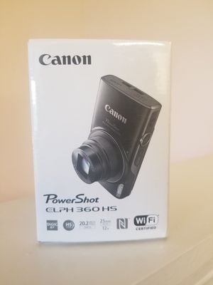 Canon PowerShot ELPH 360 HS for Sale in Starkville, MS