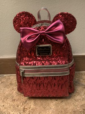 Minnie Mouse Sequin Mini Backpack By Loungefly - Imagination Pink for Sale in Irvine, CA