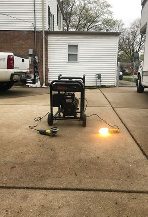 EX-CELL 5000 WATTS GENERATOR for Sale in Arlington Heights, IL