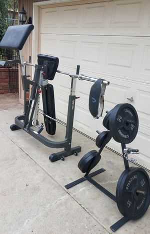 Olympic weight set for Sale in Corona, CA