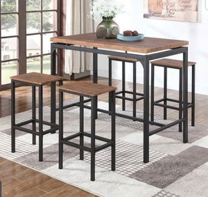 5pc pub dining set for Sale in Rancho Cucamonga, CA