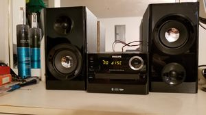 Philips table top stereo music system for Sale in Boston, MA