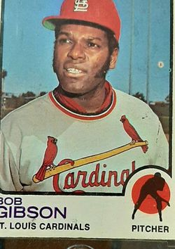 Bob Gibson 1973 Topps Baseball Card #190 for Sale in Springfield,  IL