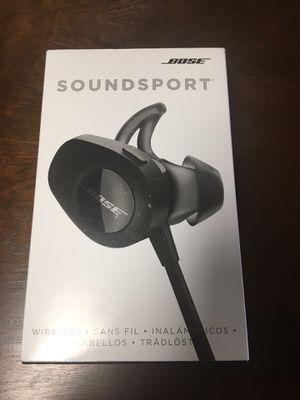 Bose soundsport headphones for Sale in Modesto, CA