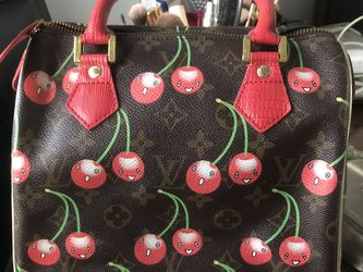 Louis Vuitton Hand Bag Cherries Series With Red Handles for Sale in Seattle,  WA